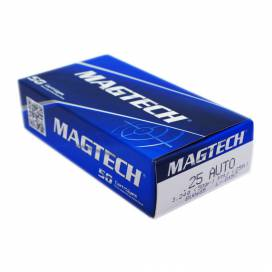 MAGTECH .25 Auto 50 Grain - 50 pcs. BOX