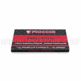 FIOCCHI Small Pistol Primers, 150 pcs. BOX