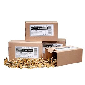 Sellier & Bellot 9X19 124gr. - 250pcs. BOX