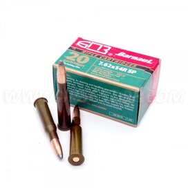 BARNAUL 7,62x54R SP 13,2g 20pcs. BOX