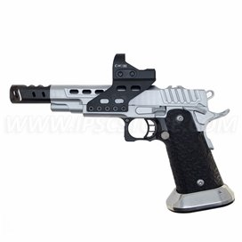 STI DVC O, 9mm, Hard Chrome with Black DLC Barrel