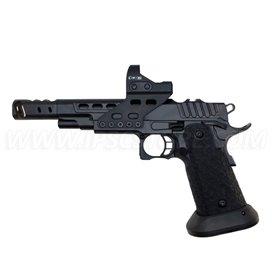 Пистолет STI DVC O, 9mm, Full Black DLC