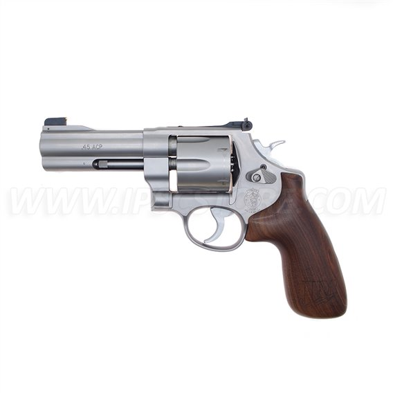 Smith & Wesson Model 625 JM .45ACP Stainless Revolver - 6 Rounds, USED