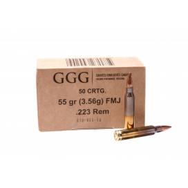 GGG .223REM 50 pcs. BOX
