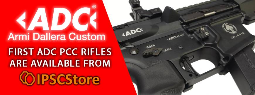 First ADC PCC rifles are available from IPSCStore